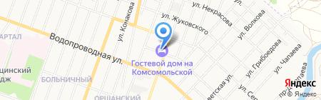 Гостевой дом на карте Йошкар-Олы