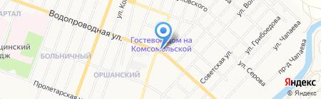Автокорея на карте Йошкар-Олы