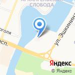 Детская поликлиника №3 на карте Йошкар-Олы