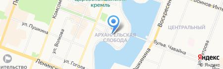 Банкомат Газпромбанк на карте Йошкар-Олы