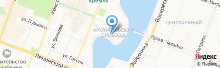 Банкомат РОСТ БАНК на карте Йошкар-Олы