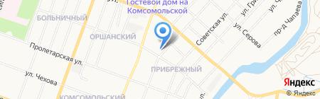 Акватика на карте Йошкар-Олы