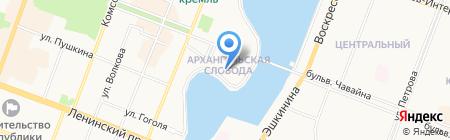 Онегин House на карте Йошкар-Олы