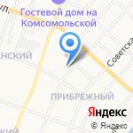 Таксопарк на Волкова на карте Йошкар-Олы