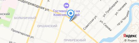 Интелит на карте Йошкар-Олы
