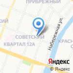 Дентал-Сервис на карте Йошкар-Олы