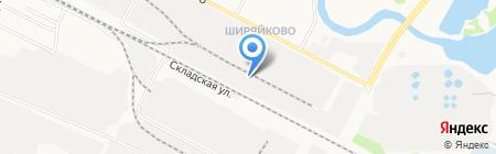 Бакалея-торг на карте Йошкар-Олы