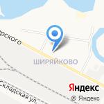 Почтовое отделение №16 на карте Йошкар-Олы