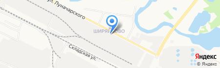 Газпром межрегионгаз Йошкар-Ола на карте Йошкар-Олы