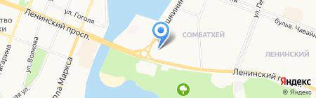 Йошкар-Олинский центр социальной помощи семье и детям на карте Йошкар-Олы