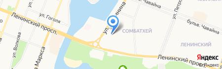 Анна на карте Йошкар-Олы