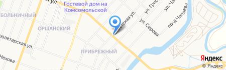 Карелия на карте Йошкар-Олы