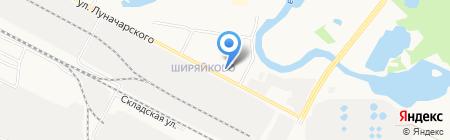 Домоуправление №1 на карте Йошкар-Олы