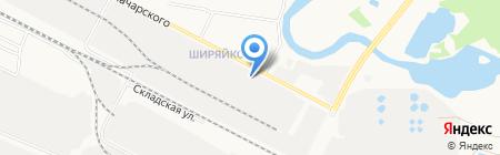 МебельТрейд на карте Йошкар-Олы