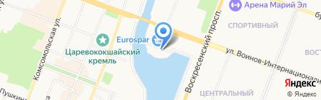 Часовня благоверных князей Петра и Февронии на карте Йошкар-Олы