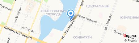Лайт Стоун на карте Йошкар-Олы