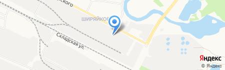 Снабжение на карте Йошкар-Олы