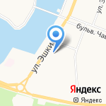 TDM на карте Йошкар-Олы