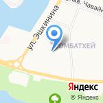 Красная шапочка на карте Йошкар-Олы