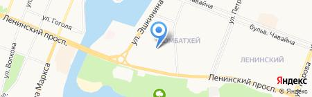Детский сад №37 Красная шапочка на карте Йошкар-Олы