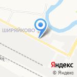 Кабачок на карте Йошкар-Олы