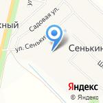 Сеть продуктовых магазинов на карте Йошкар-Олы