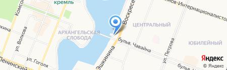 ЗАГС г. Йошкар-Олы на карте Йошкар-Олы