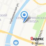 Компания по аренде спецтехники на карте Йошкар-Олы