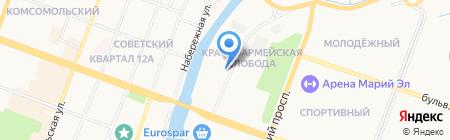 ОлаСпецТех на карте Йошкар-Олы