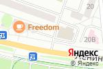 Схема проезда до компании Юникс в Йошкар-Оле