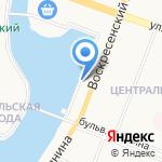 Министерство промышленности на карте Йошкар-Олы