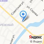 Автосервис на карте Йошкар-Олы