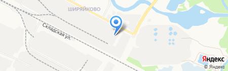 Гардиан ДОЗ на карте Йошкар-Олы