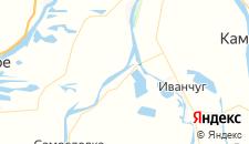 Базы отдыха города Хмелевка на карте