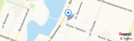 DA на карте Йошкар-Олы