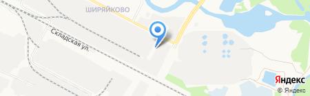БетонСтрой на карте Йошкар-Олы