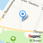 ACI Worldwide Russia LLC на карте Йошкар-Олы