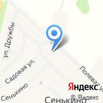 Администрация Сенькинского сельского поселения на карте Йошкар-Олы