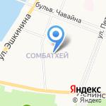 Средняя общеобразовательная школа №9 на карте Йошкар-Олы