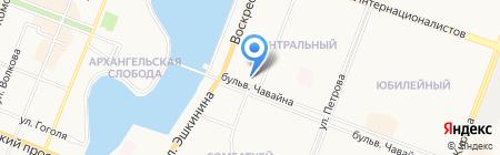 Точка на карте Йошкар-Олы