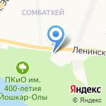 Петрович на карте Йошкар-Олы