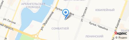 Детский сад №74 Родничок на карте Йошкар-Олы