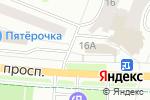 Схема проезда до компании Русские пироги в Йошкар-Оле