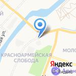 Центр тонировки на карте Йошкар-Олы