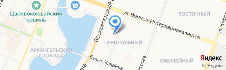 Ситилаб на карте Йошкар-Олы