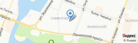 Детский сад №39 на карте Йошкар-Олы