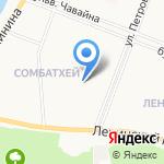 Веснушка на карте Йошкар-Олы
