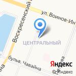 Церковная лавка на карте Йошкар-Олы