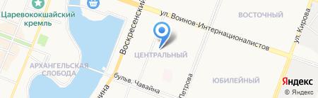 Банкомат Банк ВТБ 24 ПАО на карте Йошкар-Олы
