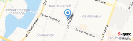 ДНС на карте Йошкар-Олы